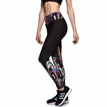 Psychedelic Athletic Leggings