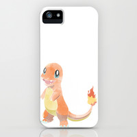 POKEMON : CHARMANDER iPhone & iPod Case by Marco Lilliu