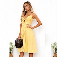 Keyhole With Bow Style Sundress