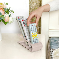 Practical Wrinkled 4 Section Home Appliance Remote Control Stand Holder KSKS