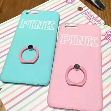 pink cover case for iphone 5s 5se 6 6s plus gift box 345 2