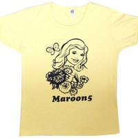 Pelican Merch — Maroon 5 She Will Be Loved Ribbed Tee
