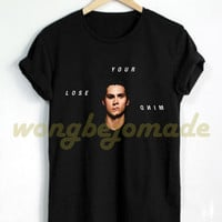 HOT Teen Wolf Shirt Stiles Stilinski Lose Your Mind Tshirt Black Color Unisex T-Shirt
