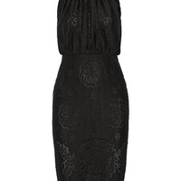 Lover - Heather lace halterneck dress
