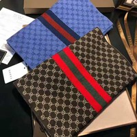 GUCCI 2018 winter new trend men and women models wild shawl scarf