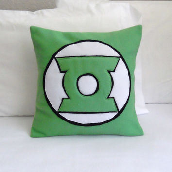 Green Lantern Fleece Pillow, DC Comics