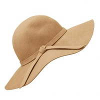 LIGHT TAN HIPPIE FLOPPY HAT