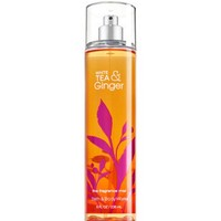 Bath & Body Works WHITE TEA & GINGER Fragrance Mist 8 oz