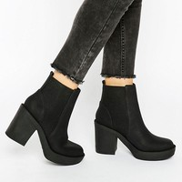 ASOS ETHEL Chunky Chelsea Ankle Boots at asos.com
