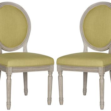 Holloway Oval Side Chair Spring Green (set of 2)