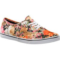 Vans Authentic Lo Pro Print Shoe - Women's