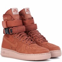 SF Air Force 1 suede sneakers