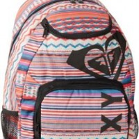 Roxy Juniors Shadow View Backpack, Sea Spray, One Size