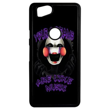 Five Nights At Freddy S The Marionette Google Pixel 2 Case