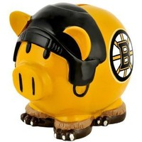 Boston Bruins Nhl Team Thematic Piggy Bank
