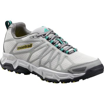 Montrail Fluid Fusion OutDry Hiking Shoe - Women's Cool Grey/Platinum,