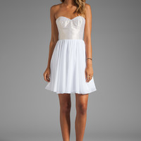 ERIN erin fetherston Anabel Dress in White/Multi from REVOLVEclothing.com