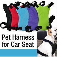 Adjustable Pet Safety Seat Belt Car Vest Harness