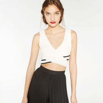 CROP TOP - View all-WOMAN-NEW IN | ZARA United States
