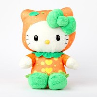"Hello Kitty 8"" Fruit Plush: Orange"