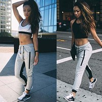 Unisex Men Women CASUAL JOGGER Hip Hop Dance Harem Pants Baggy SLACKS Trousers SWEATPANTS