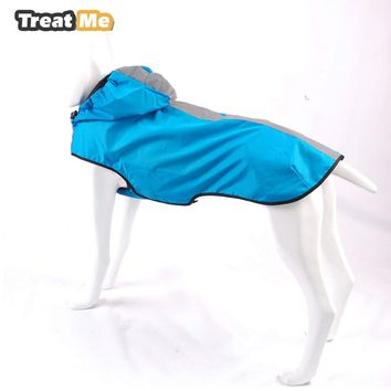 Outdoor Hoodie Pet Poodle Raincoat Rainwear Pet Dog Puppy Outdoor Waterproof Jacket Clothes Raincoat VC14-JK007