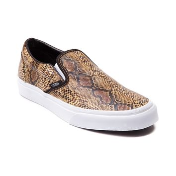Vans Slip On Leather Snake Skate Shoe