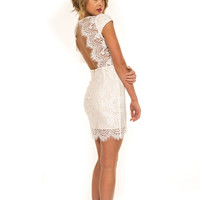 White Lie Dress