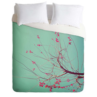 Happee Monkee Red Stars Duvet Cover