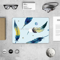 2016 Hot Sale Feather Laptop Decal Sticker Case For Apple Macbook Air Pro 11 12 13.3 15.4 Inch Guard Protective Cover Skin