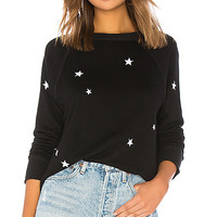n:philanthropy Montreal Sweatshirt in Black Cat | REVOLVE