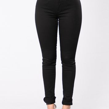 I Don't Want To Jeans - Black