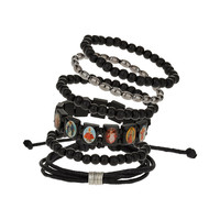 Multipack Picture Bracelet Pack - TOPMAN USA