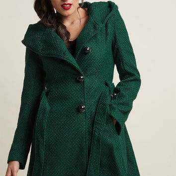 Once Upon a Thyme Coat in Midnight Blue