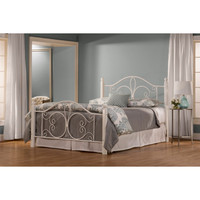 1862BQW Ruby Wood Post Bed Set - Queen - Rails Not Included
