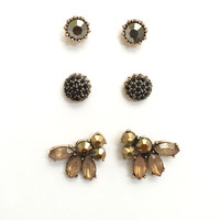 Perfectly Studded Earring Set