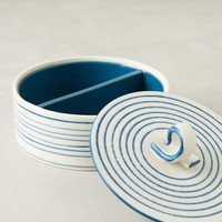 Ribbon Candy Trinket Box by Anthropologie