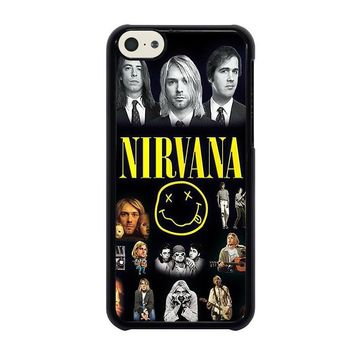 nirvana iphone 5c case cover  number 1