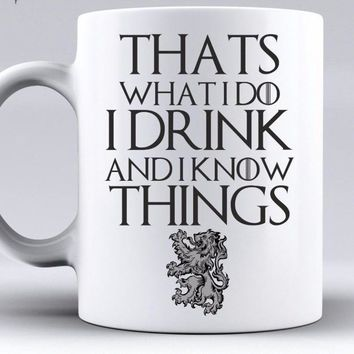 Game of Thrones Coffee Mugs Ceramic Cup