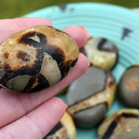 SEPTARIAN Journey Stone - Follow Your Path - Inspiration When You're Feeling Stuck - Soul Purpose