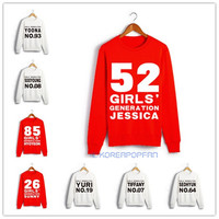 GIRLS' GENERATION SONE KPOP UNISEX SWEATER crewnecks NEW GOODS JUMPER taeyeon