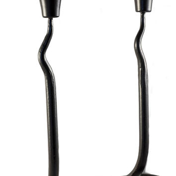 Large Wrought Iron Candle  Holder - Set Of 2