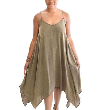 Sadie Dress In Olive