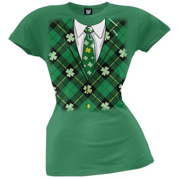 Irish Suit Juniors T-Shirt