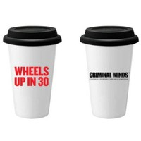 CRIMINAL MINDS WHEELS UP TRAVEL TUMBLER