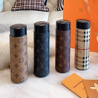 LV Louis Vuitton fashion new men's and women's printed letter high-grade thermos mug