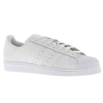 Adidas Superstar Foundation Shell Toe White Mens Trainers Sneakers - S