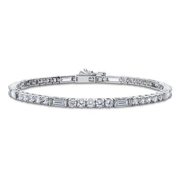 Sterling Silver CZ Art Deco Tennis BraceletBe the first to write a reviewSKU# b280