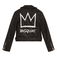 BASQUIAT 28B W Faux-Leather Jacket