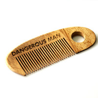 Wooden Beard Comb  Personalized Wooden Hair Comb Engraved Fathers Day Gift Comb For Beard Gift for Him Husband Gift Friend Gift Boys Gift